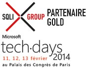 MicrosofT techdays SQLI GROUP